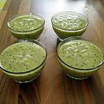 recette mousses de kiwis