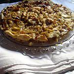 recette Tourte aux pommes et  bananes...........