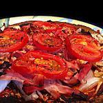 recette Tortizza Jambon Tomate Chevre !