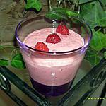 recette mousse de framboises à la crème fraiche