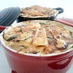 recette Cocottes de courgettes tartiflette