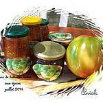 recette Marmelade de tomates vertes aux épices