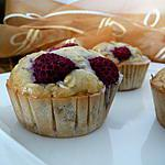 recette Ooo Muffins aux framboises & flocons d'avoine ooO