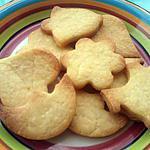 recette Petit Sablé a la Vanille