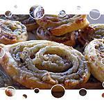 recette Spirales au roquefort et éclats noix