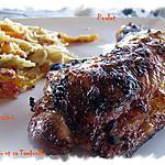recette Cuisses de poulet marinées aux épices