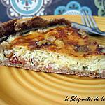 recette Quiche à la choucroute, au cumin et aux noix