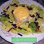 recette Fromage dormant sur son toast et sa salade tout en douceur