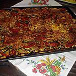 recette Quiche au thon, courgettes , tomates.