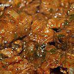 recette Sauté de boeuf à l'orientale