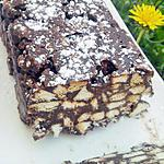 recette Marbré aux petits - beurre Lu