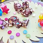 recette Mini Choco-saucisson aux bonbons