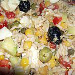 recette salade de riz à ma façon
