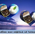 recette Sardines aux câpres et romarin