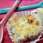 recette Carrés façon rochers de noix de  coco à la framboise