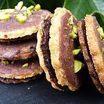 Petits biscuits au chocolat et son glaçage au bailey