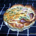 recette quichette saumon-aneth