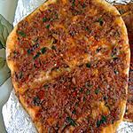 recette Lahmacun : pizza turque