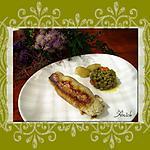 recette Roulades de poulet au jambon cru et au Boursin. de Sophie 21
