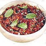recette Caviar de tomates séchées