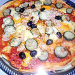 Pizzas courgette