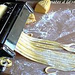recette Pâte pour pâtes à la semoule fine ou farine