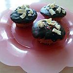 recette Cupcakes au chocolat noir