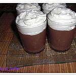 recette Petites crèmes au chocolat !!!!!!!