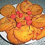recette Cookies à la...fraise Tagada ® ! =P