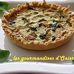 recette Tarte aux courgettes et au fromage de chèvre