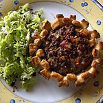 recette Tartelette de Steak Haché (tomate et poivron)