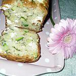 recette Cake salé courgette feta et menthe