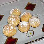 recette Petits gâteaux aux amandes et à l'eau de rose