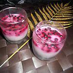 panna cotta myrtille sauvage