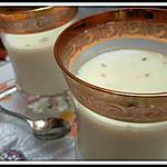 recette Panacotta vanille