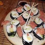 recette Sushis faite maison