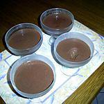 """recette Mousse chocolat - noix de coco """" minceur ou version Dudu """""""