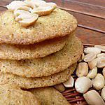 recette Sablés aux cacahuètes
