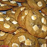 recette Biscuits s'more au chocolat et aux guimauves