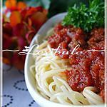 recette Sauce à spaghetti Mamma Mia!