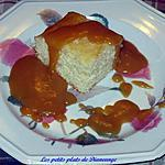 recette Gâteau blanc sauce style Saint-Hubert
