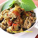 recette Ratatouille méridionale avec travers de porc ou poitrine d'agneau