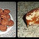 recette Macarons au chocolat & caramel au beurre salé, pas beau mais absolument succulents !
