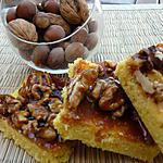 recette Sablés au chocolat blanc et ses noix caramélisées