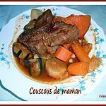 recette COUSCOUS DE MAMAN (recette familiale)