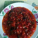 recette Salade de piment Méchouiya