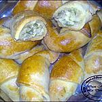 recette petits croissants farcis:
