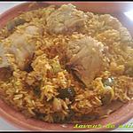 recette riz au poulet: