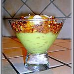 Mousse Avocat-Banane-Miel