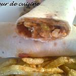 recette un sandwitch a ma façon (libanais mexicain)